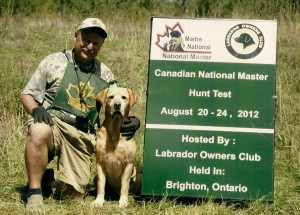 Jim and William at the National 2012